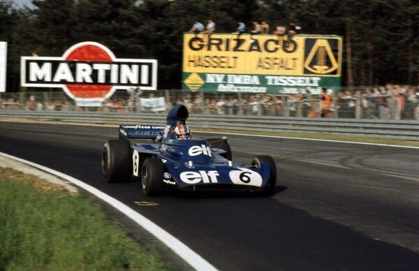 Francois Cevert, Tyrrell 006-Ford (2nd place)  Belgian Grand Prix, Zolder, 20th may 1973  World LAT Photographic  Ref: 73 BEL 29