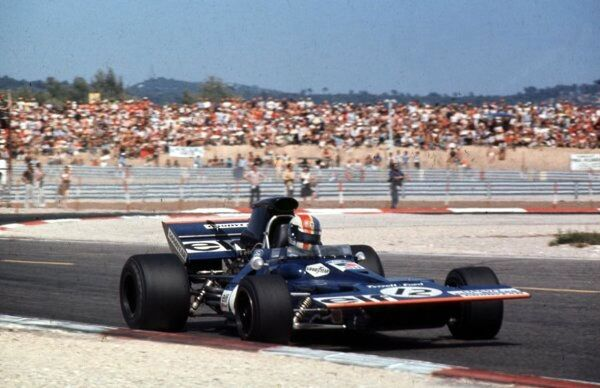 Francois Cevert, Tyrrell 002 - Ford (2nd place)  French Grand Prix, Paul Ricard 4 July 1971  World LAT Photographic  Ref: 71 FRA 05