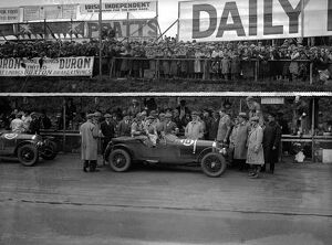 1930 Tourist Trophy: Tazio Nuvolari, after finishing in 1st position