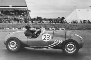 1952 British Grand Prix - Tony Crook: Silverstone, Great Britain. 19 July 1952