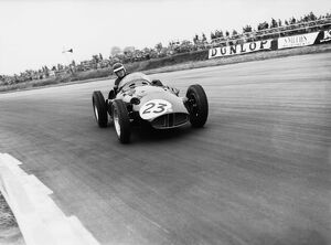 1956 British Grand Prix - Mike Hawthorn: Silverstone, England. 12-14 July 1956