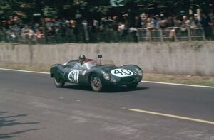 1957 Le Mans 24 hours: Jack Brabham/Ian Raby, 15th position