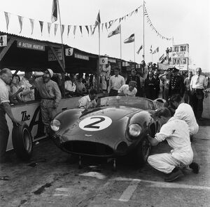 1959 Tourist Trophy: Carroll Shelby/Stirling Moss/Tony Brooks/Jack Fairman, 1st position
