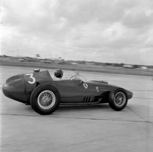1959 United States Grand Prix: Cliff Allison retired