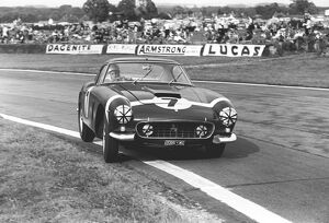 1960 Tourist Trophy: Stirling Moss, 1st position, action