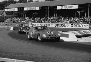 1962 RAC Tourist Trophy: Goodwood, West Sussex, England. 18th August 1962. Rd 11