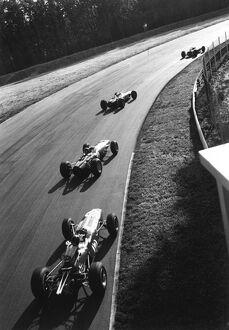 1965 Italian Grand Prix, Monza. Jim Clark, Jackie Stewart: 2003 Racing Past... Exhibition