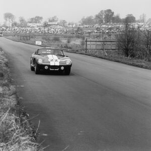 1965 Tourist Trophy: Jack Sears, 7th position, action