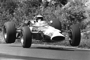 1967 German Grand Prix - Jackie Oliver: Jackie Oliver, 5th overall and 1st position in F2 Class