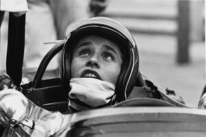 1967 German Grand Prix - Jacky Ickx: Jacky Ickx, retired, portrait
