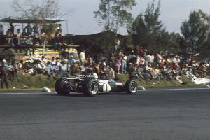 1967 Mexican Grand Prix: Jack Brabham 2nd position