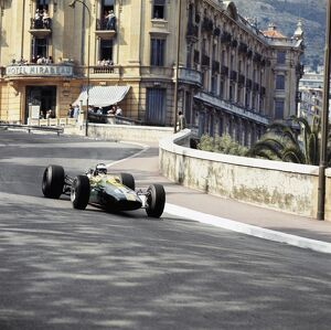 1967 Monaco Grand Prix - Jim Clark: Monte Carlo, Monaco. 4-7 May 1967