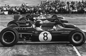 1967 Tulln-Langenlebarn Formula Two: Jochen Rindt, 1st position, on the start line