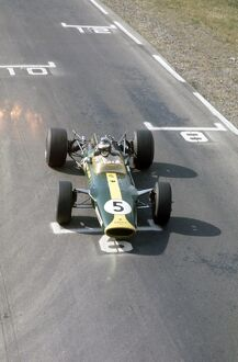 1967 United States Grand Prix - Jim Clark: Watkins Glen, New York, USA