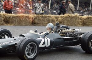 1968 Dutch Grand Prix - Piers Courage: Piers Courage, retired, action