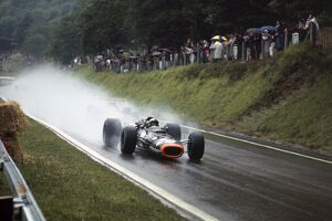 1968 French Grand Prix - Pedro Rodriguez: Rouen-les-Essarts, France. 7 July 1968