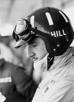 1968 South African Grand Prix - Graham Hill: Graham Hill, Lotus 49-Ford, 2nd position