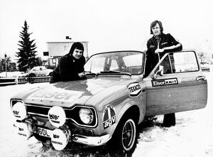 1973 World Rally Championship: Ronnie Peterson with co-driver Torsten Palm, retired