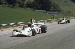 1974 Austrian Grand Prix - James Hunt: Osterreichring, Zeltweg, Austria. 16-18 August 1974