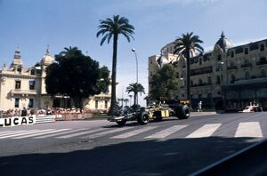 1974 Monaco Grand Prix - Ronnie Peterson: Ronnie Peterson, 1st position, action