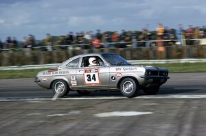 1974 Tourist Trophy: Gerry Marshall, Vauxhall Firenza Magnum 2300, retired, action