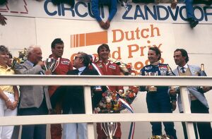 1983 Dutch Grand Prix: Rene Arnoux, 1st position, Patrick Tambay, 2nd position