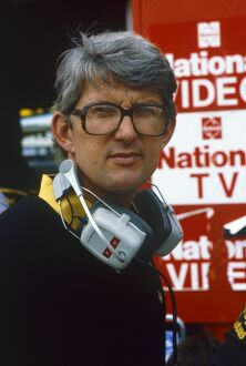 1984 South African Grand Prix: Peter Warr, Lotus Grand Prix Team Manager, portrait