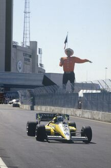 1984 United States Grand Prix: Fair Park, Dallas, Texas, USA. 6th - 8th July 1984
