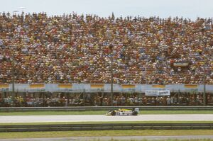 1986 Brazilian Grand Prix: Nelson Piquet 1st position