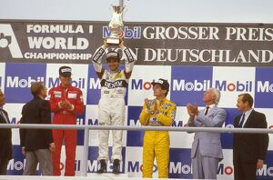 1987 German Grand Prix: Nelson Piquet 1st position, Stefan Johansson 2nd position