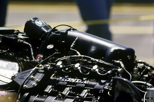 1988 Australian Grand Prix: Last race for the Honda V6 Turbo, detail