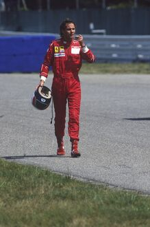 1988 German Grand Prix: Gerhard Berger, 3rd position, portrait