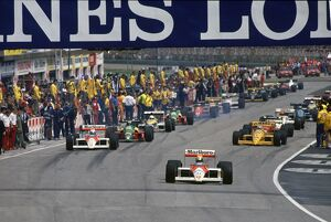 1988 San Marino Grand Prix: Imola, Italy. 29th April - 1st May 1988
