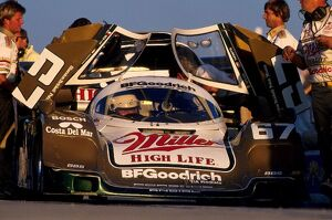 grand prix decades/1980s 1989/daytona 24 hours winner bob wollek driving porsche