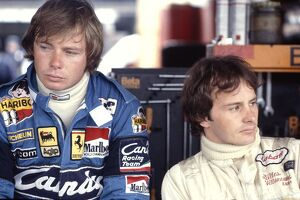 Ferrari team mates Didier Pironi and Gilles: 1981 Formula One World Championship