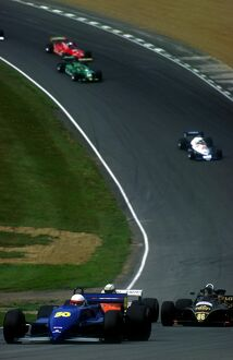 FIA Thoroughbred Grand Prix Championship: Paul Ingram Tyrrell 011 leads the field