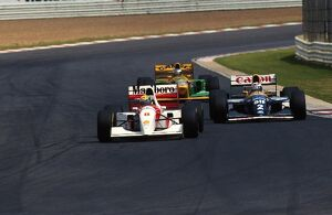 grand prix decades/1990s 1993 formula 1 south africa/formula world championship ayrton senna mclaren