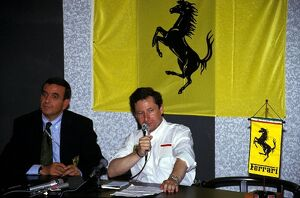 grand prix decades/1990s 1993 formula 1 france/formula world championship ferrari sporting director