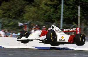 grand prix decades/1990s 1993 formula 1 australia/formula world championship flying finn mika hakkinen