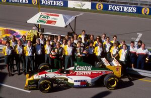 grand prix decades/1990s 1993 formula 1 australia/formula world championship johnny herbert pedro