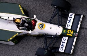 grand prix decades/1990s 1991 formula 1 italy/formula world championship julian bailey lotus