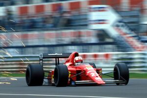 grand prix decades/1980s 1989/formula world championship nigel mansell ferrari