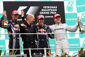 2010 grand prix races/rd3 malaysian grand prix best images/formula world championship podium mark webber