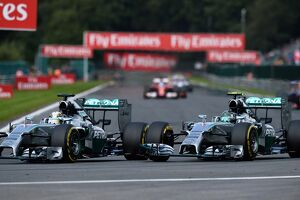 Formula One World Championship, Rd12, Belgian Grand Prix, Race Day, Spa-Francorchamps