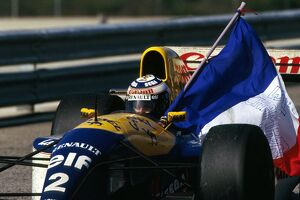 grand prix decades/1990s 1993 formula 1 portugal/formula world championship second place alain