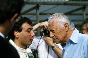 Gianni Agnelli, here seen at a 1984 Monaco Grand Prix: Gianni Agnelli 1922 - 2003