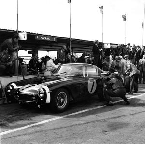 Goodwood, England. 19th August: Stirling Moss, 1st postition