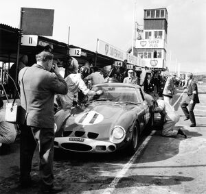 Goodwood, West Sussex, Great Britain. 24 August 1963: Graham Hill, Ferrari 250GTO