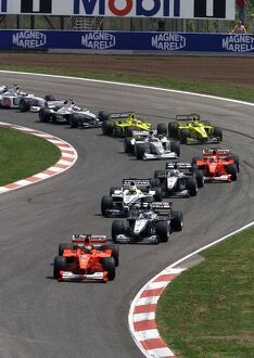 Start of the Spanish Grand Prix: Formula One Spanish Grand Prix
