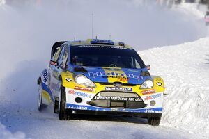2011 wrc rallies/rd1 swedish rally/world rally championship pg andersson ford fiesta